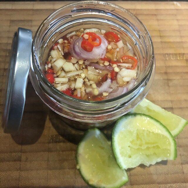 Thai-Chili Fischsauce |  Prik nam Pla