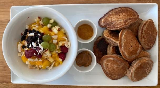 Hafer-Kastanienmehl Pancake